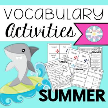 Vocabulary Activities - SUMMER