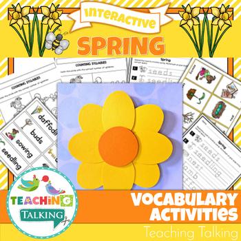 Spring Vocabulary Activities