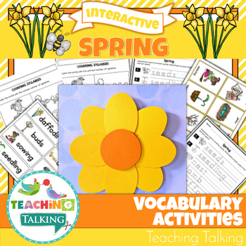 Vocabulary Activities - Spring