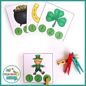 St. Patrick's Day Vocabulary Activities
