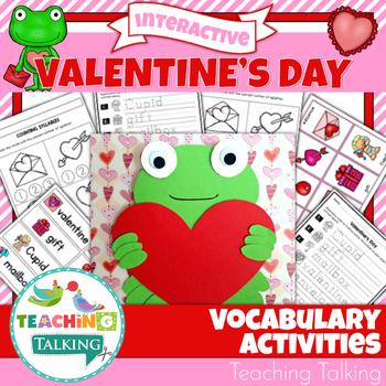 Valentine's Vocabulary Activities