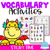 Vocabulary Activities Story Time