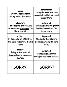 Vocabulary Activities Third Grade Wonders Reading Series Units 1 through 3