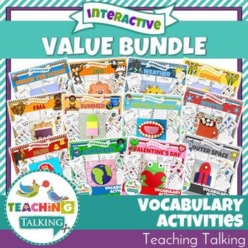 Vocabulary Activities - Value Bundle