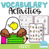 Vocabulary Activities Verbs
