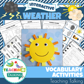 Weather Speech Therapy Activities