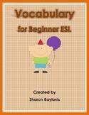 Vocabulary Activities for Beginner ESL