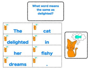 Vocabulary Activities for Mr. Putter and Tabby Pour the Tea - Texas Treasures