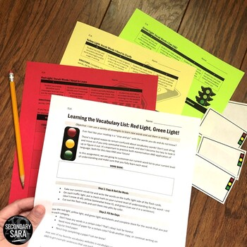 Vocabulary Activity: Differentiated Learning for ANY Word List!