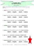 Vocabulary Activity Grammar Fun