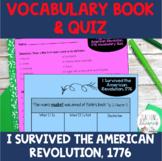 I Survived the American Revolution, 1776 Vocabulary Activi