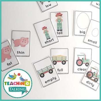 Vocabulary Activities Kindergarten