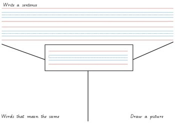 Vocabulary Activity Sheet