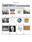 Vocabulary Activity Unit 11 The Great Depression and WWII