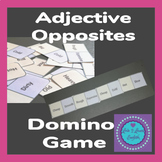 Vocabulary Adjective Opposites Domino Game- ESL, EFL,SLL