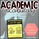 Vocabulary Anchor Charts, Brag Tags, Lanyard Badges