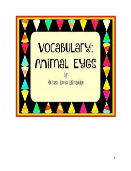 Vocabulary: Animal Eyes