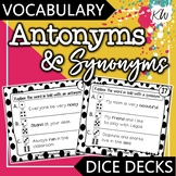 Antonyms and Synonyms Game