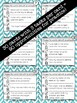 Antonyms and Synonyms Interactive Task Cards - Vocabulary