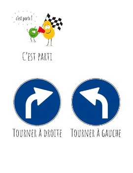 Vocabulary/Flashcards - Ask for a direction in French