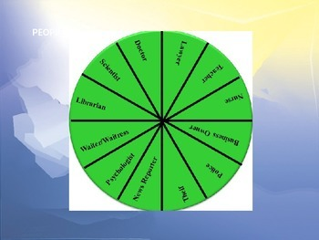 Vocabulary Assessment with Game Board and Roleplay Spinners