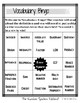 6th Grade Math Vocabulary BINGO (The Number System)