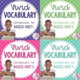 Vocabulary BUNDLE for Just the Basics (grades 3-5)