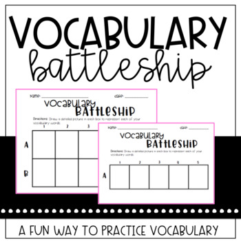Vocabulary Battleship