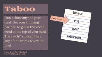 Vocabulary Bellringers for Secondary ELA