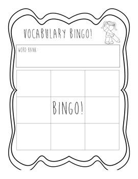 Vocabulary Bingo!!