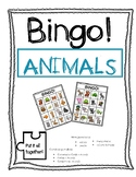 Vocabulary Bingo - Animals