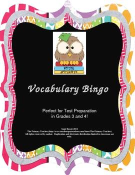 Vocabulary Bingo for Test Preparation