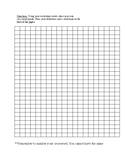 Vocabulary-Blank Crossword Puzzle Template