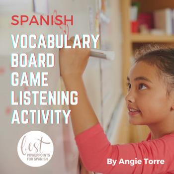 Spanish Vocabulary Board Game