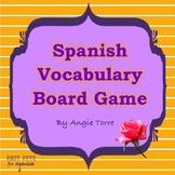Spanish Vocabulary Board Game