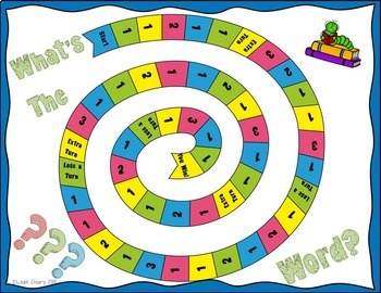 Vocabulary Board Game For Any Subject