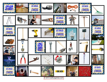 Vocabulary Board Game Pack 6 Game Bundle