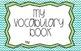 Vocabulary Book