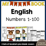Vocabulary Booklet Numbers 1-100 English | Vocab Book 1-10