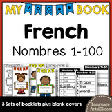 Vocabulary Booklet Numbers 1-100 French | Cahier de vocab Les Nombres 1-100