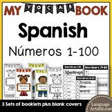 Vocabulary Booklet Numbers 1-100 Spanish | Vocabulario Números 1-100 Español