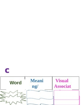 Vocabulary Books