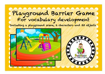 Vocabulary Booster Barrier Game Bundle