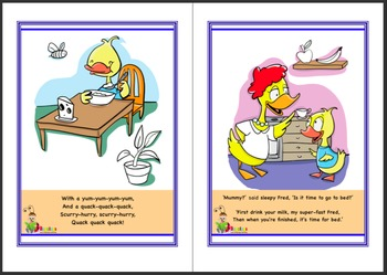Vocabulary Booster Interactive Storybook 'Is It Time For Bed?'