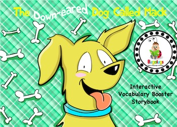 Vocabulary Booster Interactive Storybook 'Mack the Down-Ea
