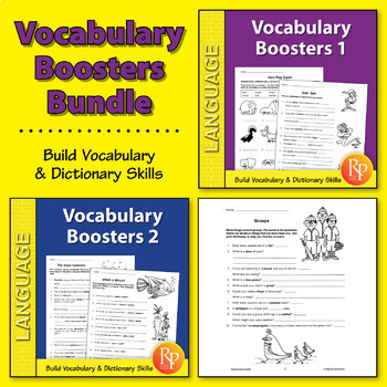 Vocabulary Boosters {Bundle}