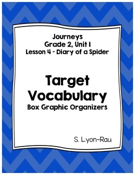 Vocabulary Boxes - Journeys, Grade 2, Lesson 4 - Diary of