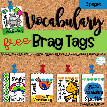 Vocabulary Brag Tags