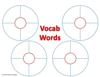 Vocabulary Bubbles Worksheet