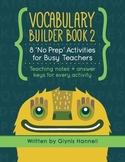 Vocabulary Builder Book 2